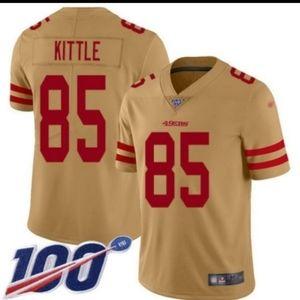 Kittle #85 alternate 49ers jersey